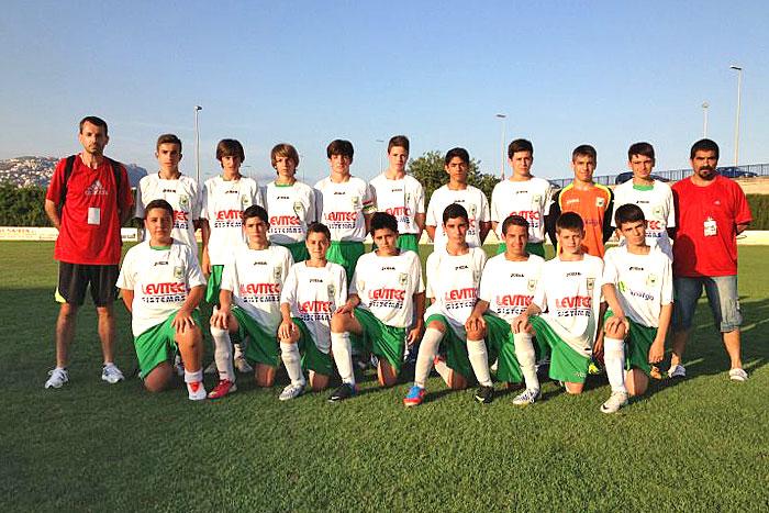 C.D. Peñas Oscenses, Categoría Infantil en el Torneo Costa Blanca Cup