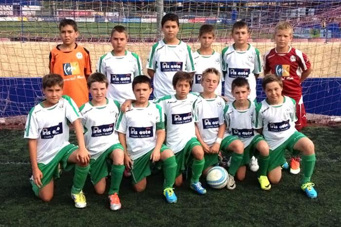 Plantilla del EFO B en el Torneo Costa Blanca Cup