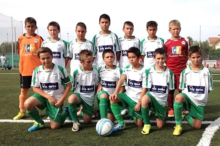 Equipo EFO B en la semifinal del Costa Blanca Cup 2013