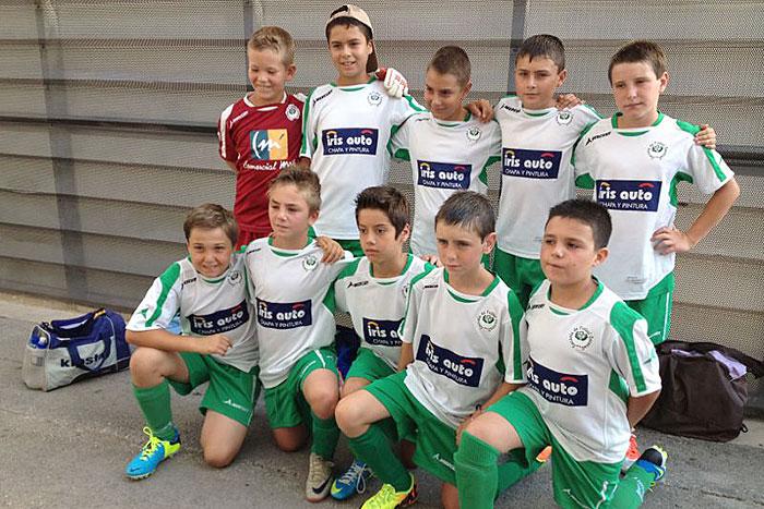 """EFO """"B"""" 2002 en el Costa Blanca Cup - Fútbol 8"""