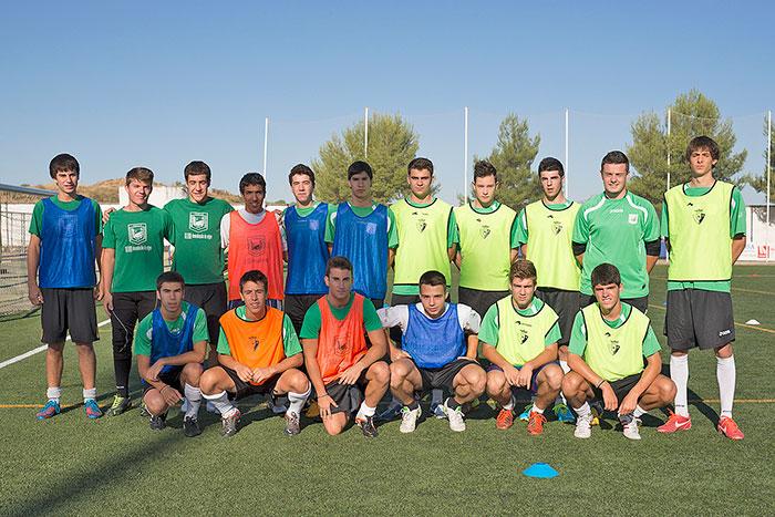 Jugadores que se incorporan al equipo Juvenil Liga Nacional