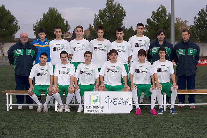 Foto de archivo del Juvenil Nacional 2012-2013