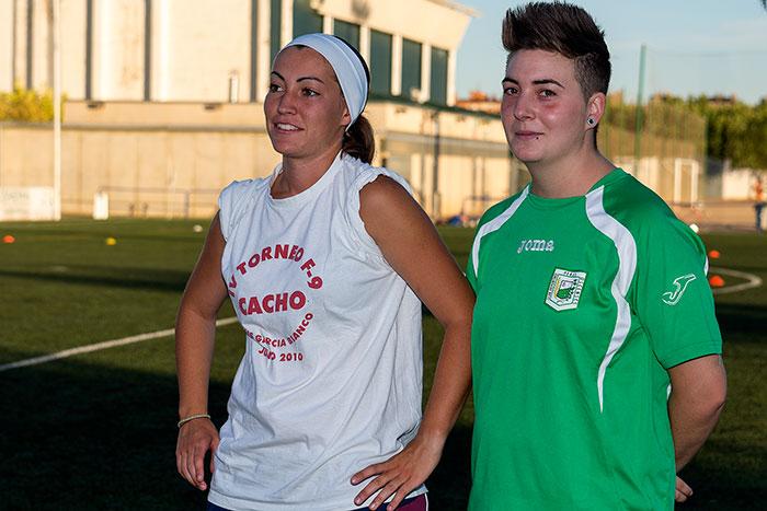 Laura Prados y Sara Bellosta