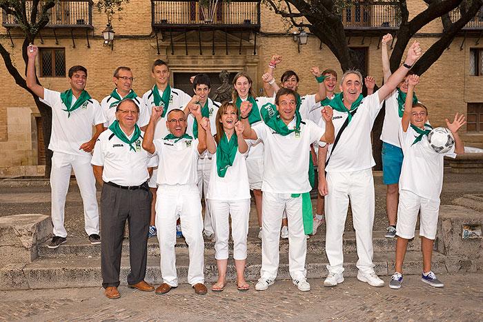 La alegría y el blanco y verde que no falten