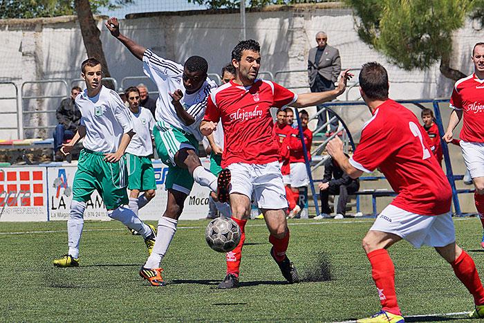 Foto archivo C.D. Peñas Oscenses vs Grañén, mayo 2013