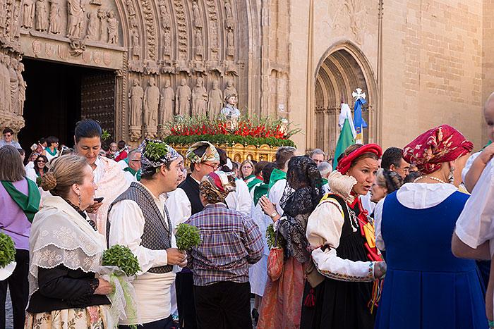 Intermedio de la procesión del día 10 de agosto de 2013