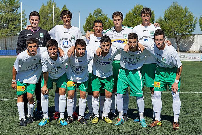 Equipo inicial del C.D. Peñas Oscenses, Juvenil Liga Nacional