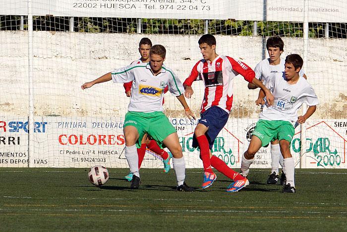 Jorge Subías presionado y apoyado por sus compañeros