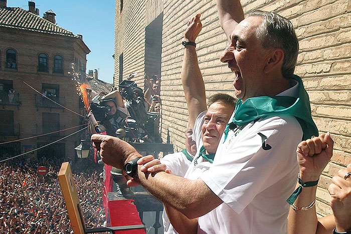 El momento más emocionante. Foto Carlos Pascual