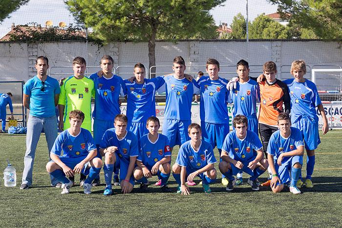 Villa de Biescas, F.C. Juvenil Preferente 2013-2014