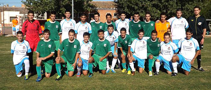 Los dos equipos y el Colegiado juntos para el recuerdo