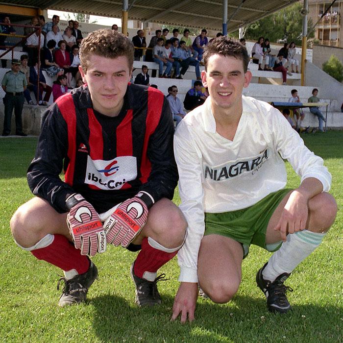 Juan Nasarre Claver y Diego Marin Campodarve